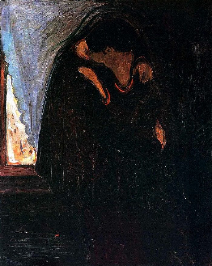a study of the life and works of edvard munch A norwegian born expressionist painter, edvard munch lived a tumultuous life, which was represented in his paintings as a child, he was often ill in the winter, and kept out of school.